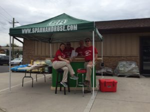 Spahn & Rose Stockton, blood drive