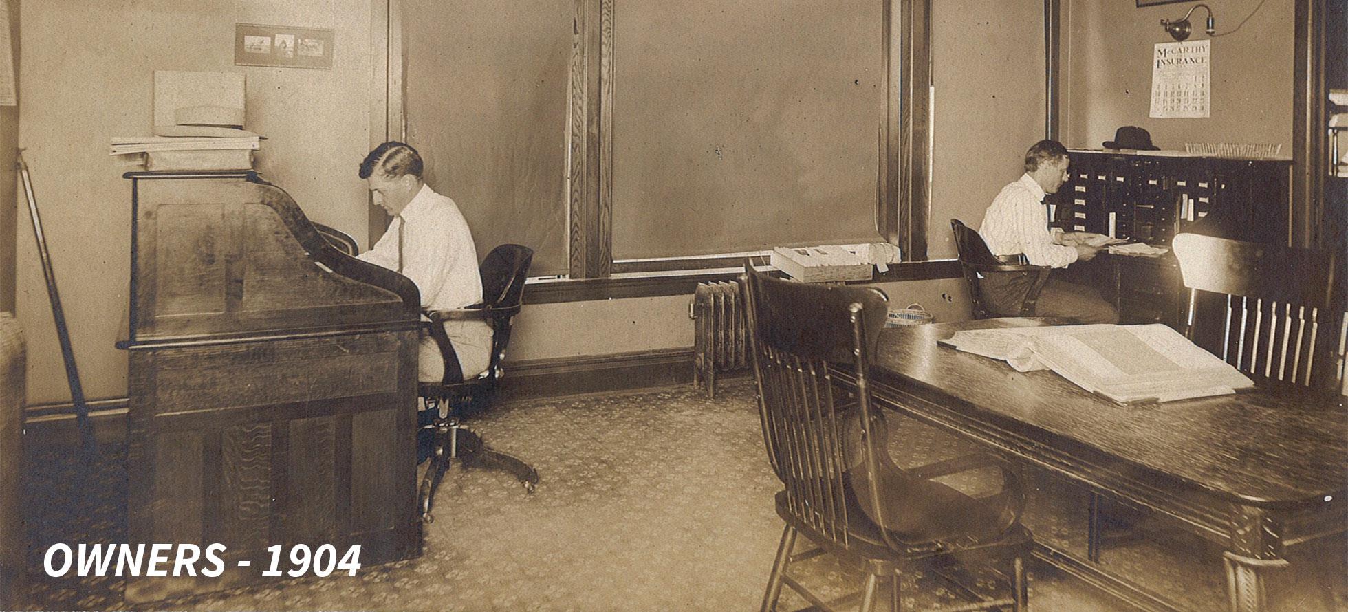 Spahn & Rose Owners 1904